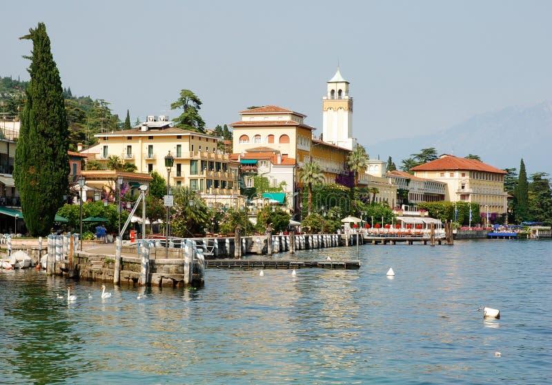 Gardone-Riviera (Italien) stockbild