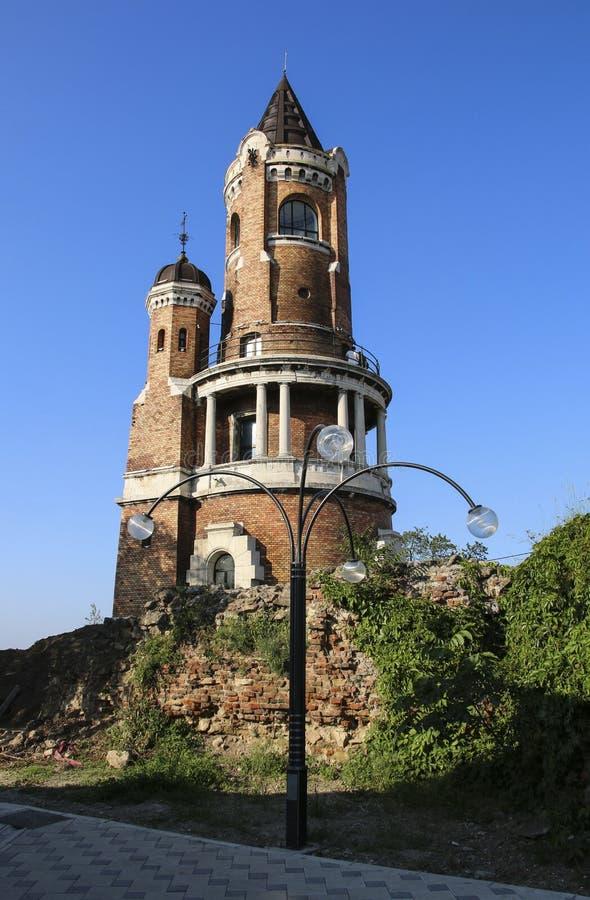 Gardos wierza milenium wierza w Zemun, Belgrade, Serbia obrazy royalty free