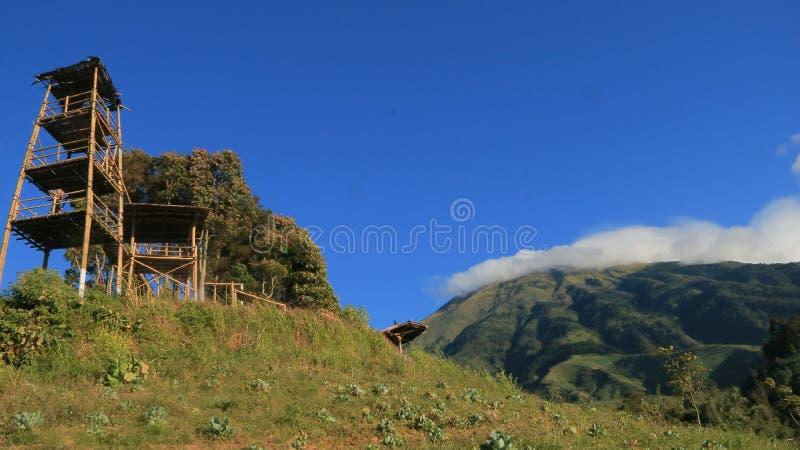 Gardu Pandang Silancur obrazy royalty free