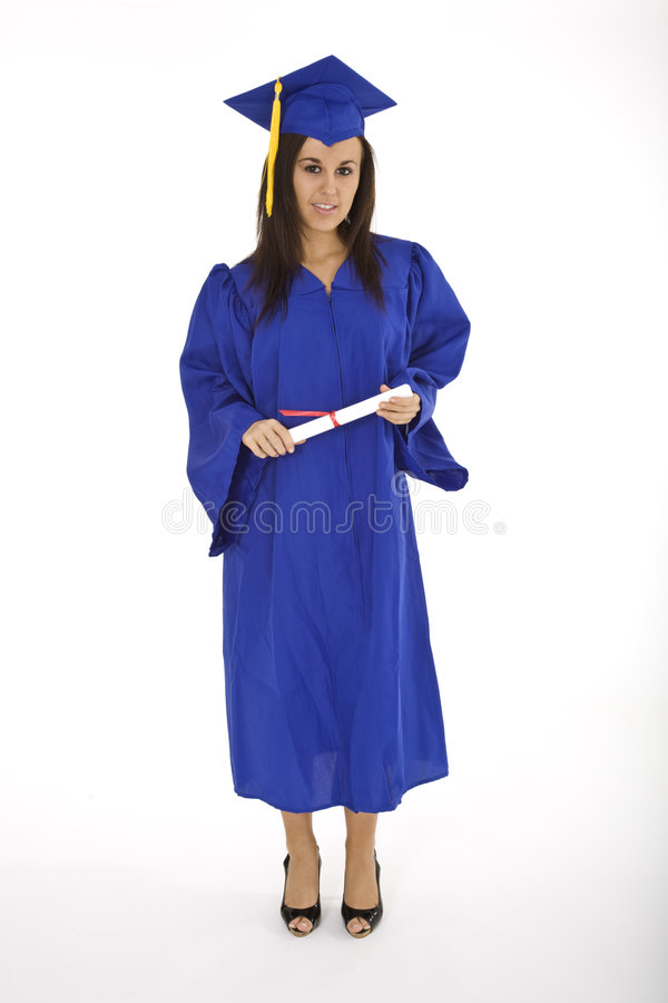 Garduation fotografia stock