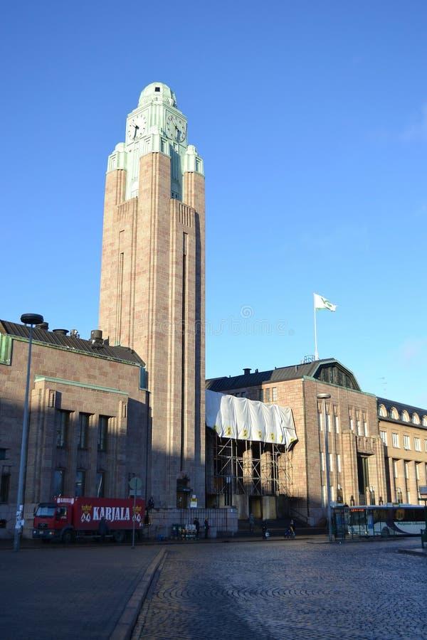 Gare à Helsinki photos libres de droits