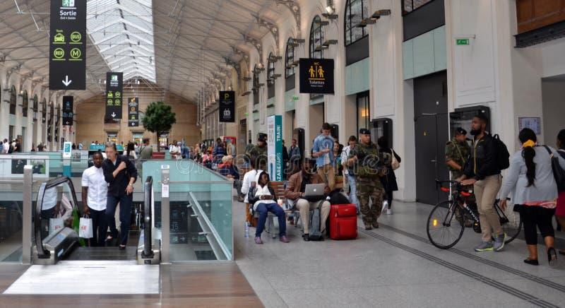 Gare święty, Paryż obrazy royalty free