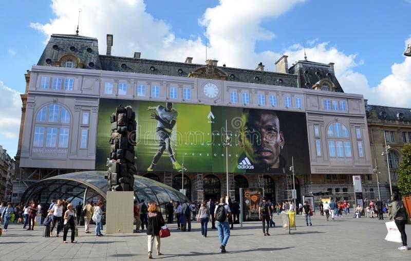 Gare święty, Paryż zdjęcia stock