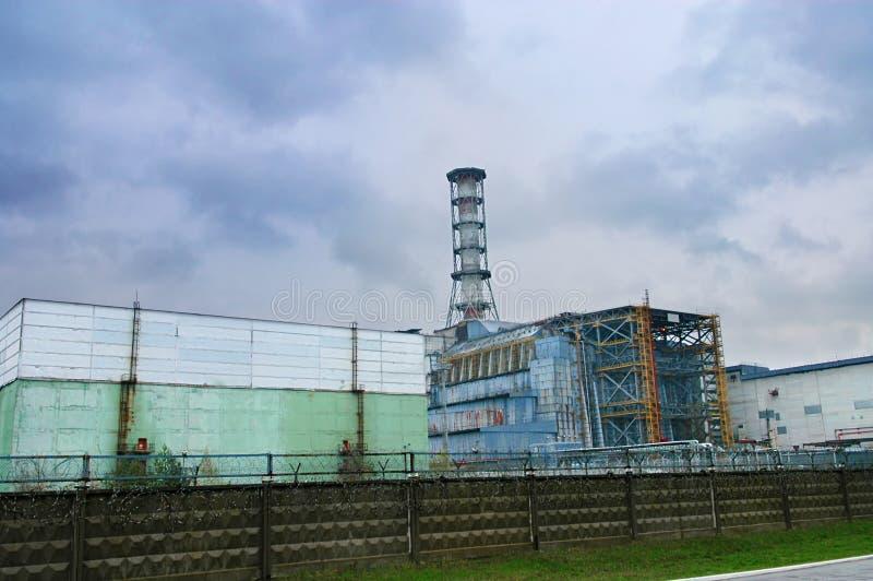 Gare atomique d'énergie électrique de Chernobyl images libres de droits