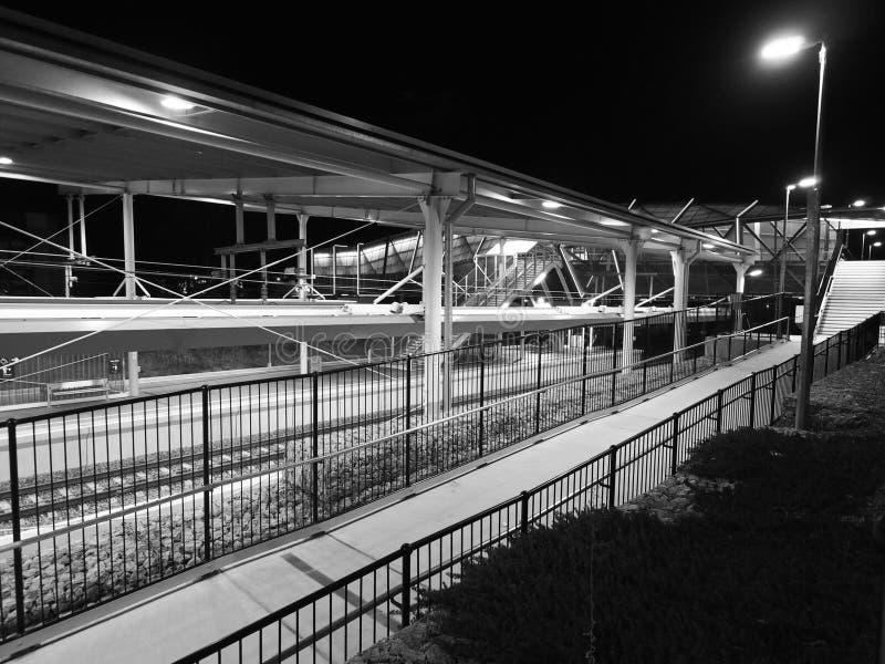 Gare britannique photographie stock
