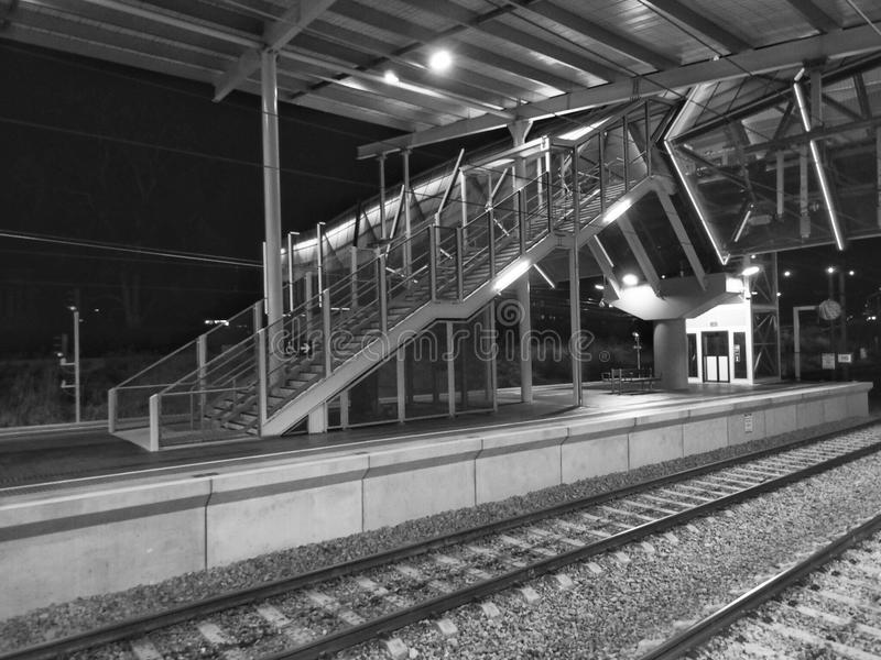 Gare britannique photo stock