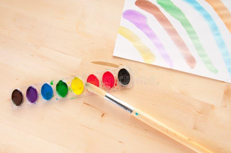Gare d'art d'enfant photo libre de droits