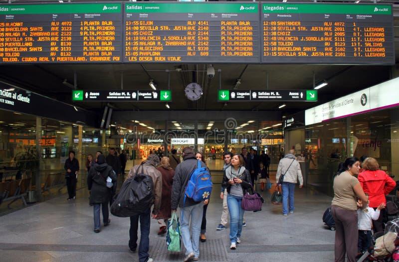 Gare d'Atocha photos stock