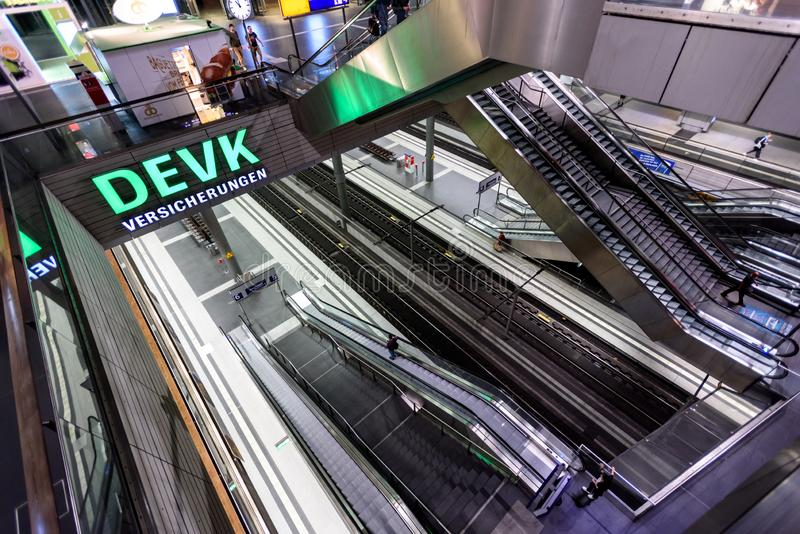 Gare de central de Berlin image stock