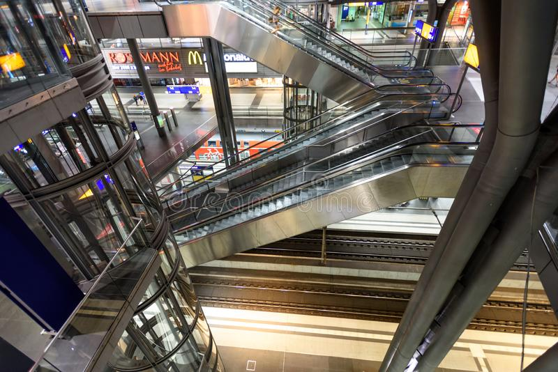 Gare de central de Berlin photos stock