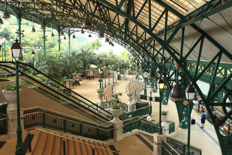 Gare de Disney images stock