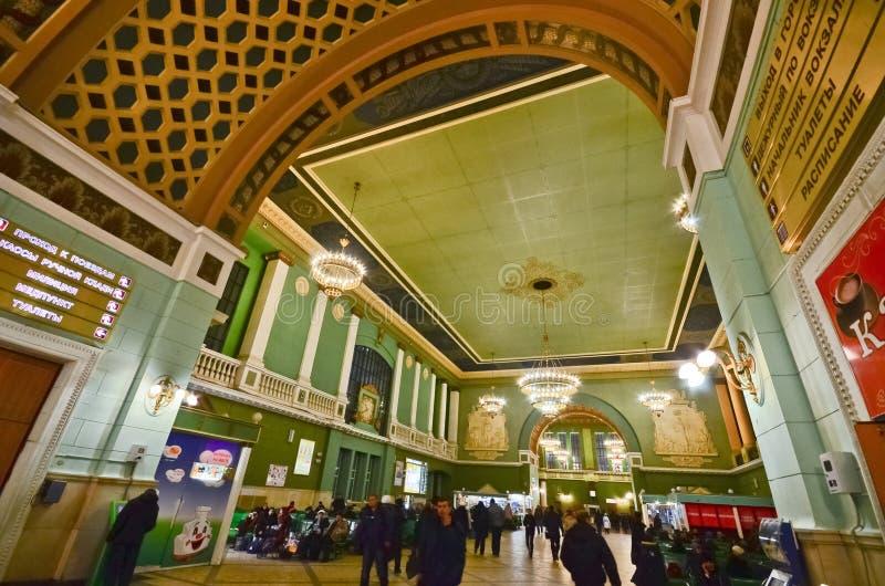 Gare de Kiev, Moscou photos libres de droits