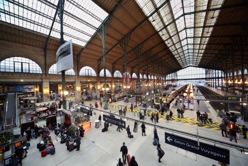 Gare DE lâEst - Oostelijk Station royalty-vrije stock afbeelding