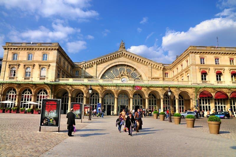 Gare de L'Est lizenzfreie stockfotos