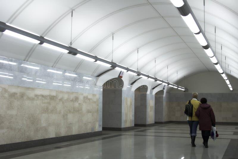Gare de métro de Moscou photo libre de droits