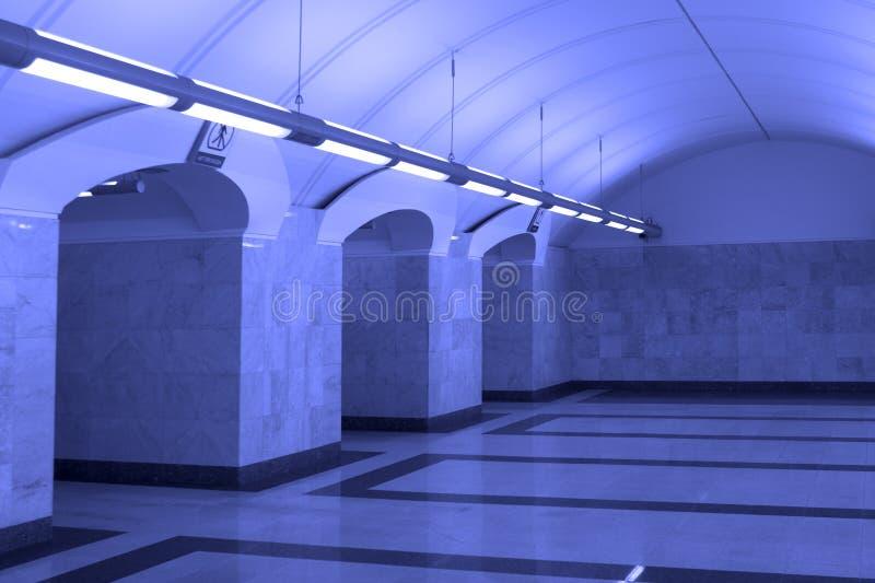 Gare de métro de Moscou image libre de droits