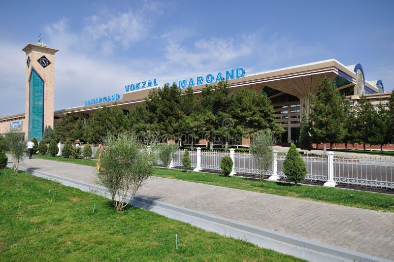 Gare de Samarkand photos stock