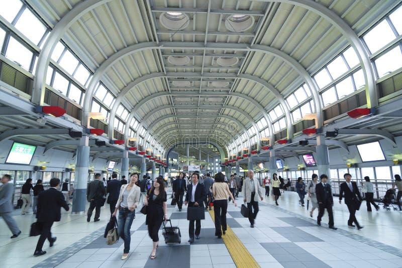 Gare de Shinagawa image libre de droits