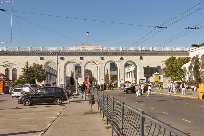 Gare de Simferopol images stock