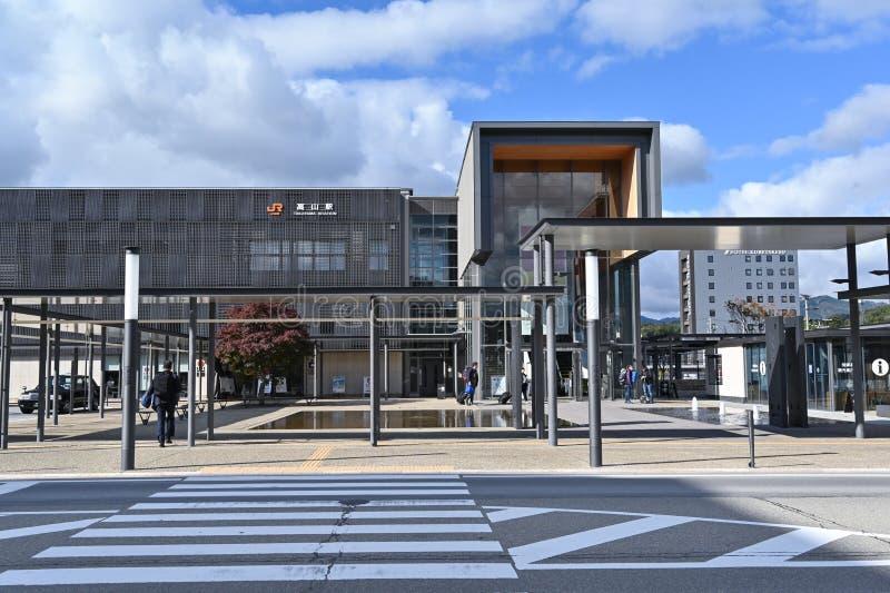 Gare de Takayama, Japon photo stock