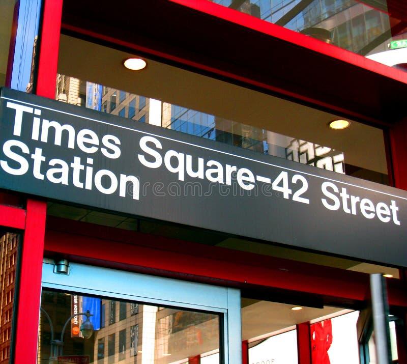 Gare de Times Square photos stock