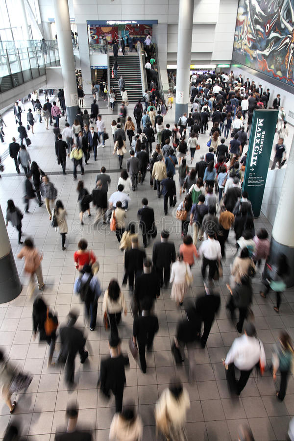 Gare de Tokyo Shibuya image libre de droits