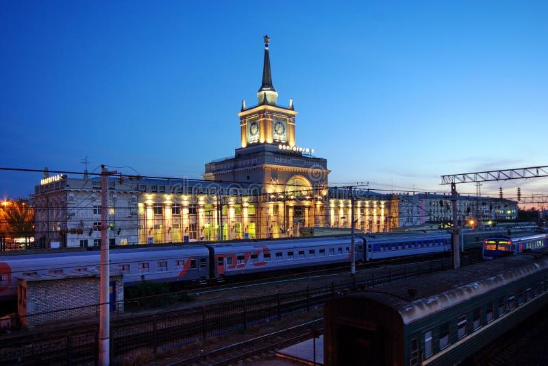 Gare de Volgograd photo libre de droits