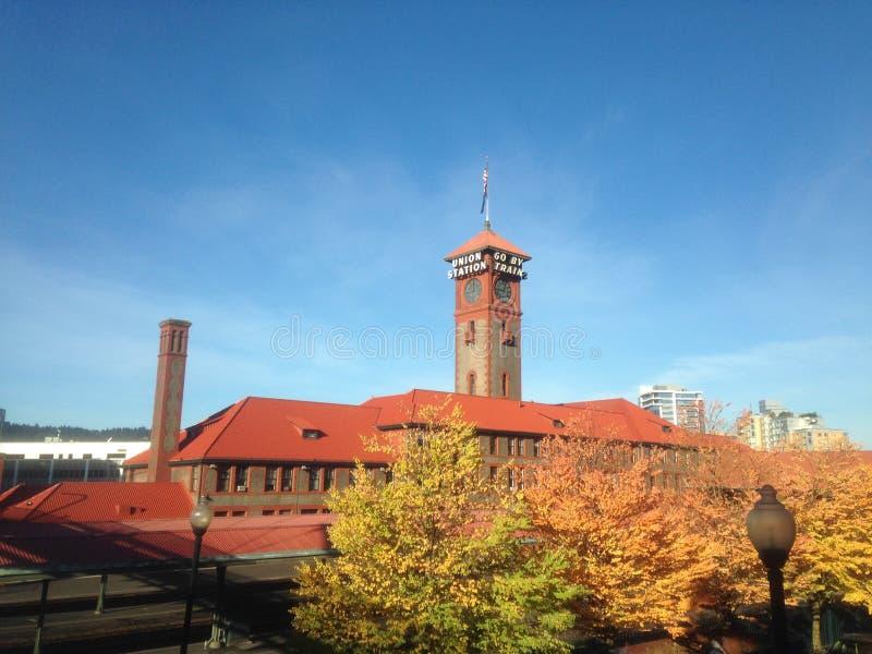 Gare des syndicats à Portland Orégon images stock