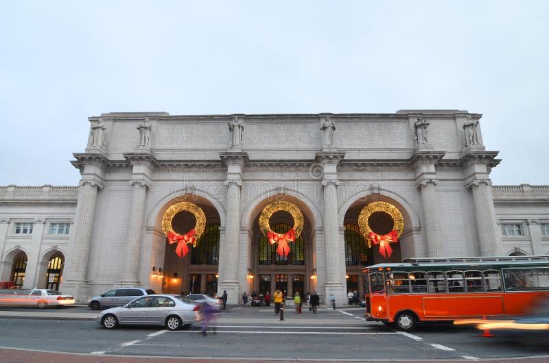 Gare des syndicats dans le Washington DC Etats-Unis images libres de droits