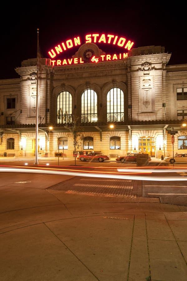 Gare des syndicats de Denver images libres de droits