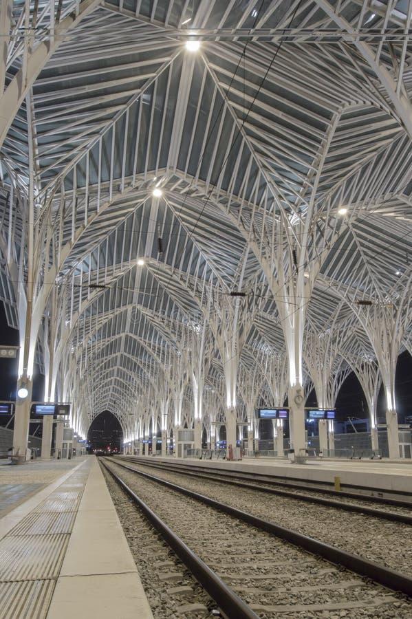Gare do Oriente stock foto's