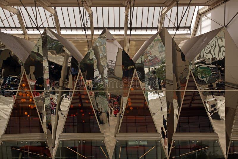 Gare du Nord en París fotos de archivo