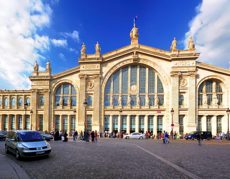 Gare du Nord, Paris. The Gare du Nord train station in Paris, France stock images