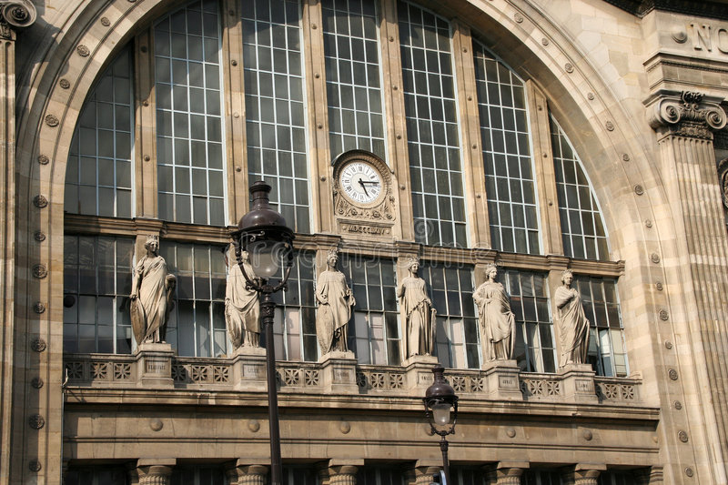 Download Gare du Nord, Paris stock photo. Image of railway, lanterns - 2408048