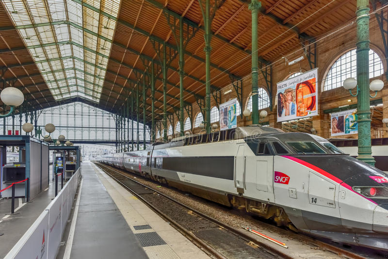 Gare Du Nord - Paryska północy stacja obrazy royalty free