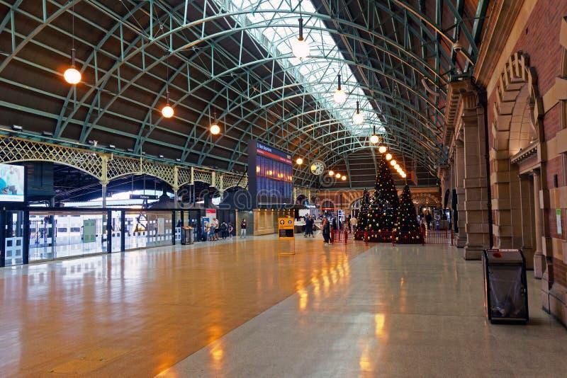 Gare ferroviaire centrale, Sydney, Australie photos stock