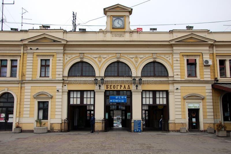 Gare ferroviaire de Belgrade photo libre de droits