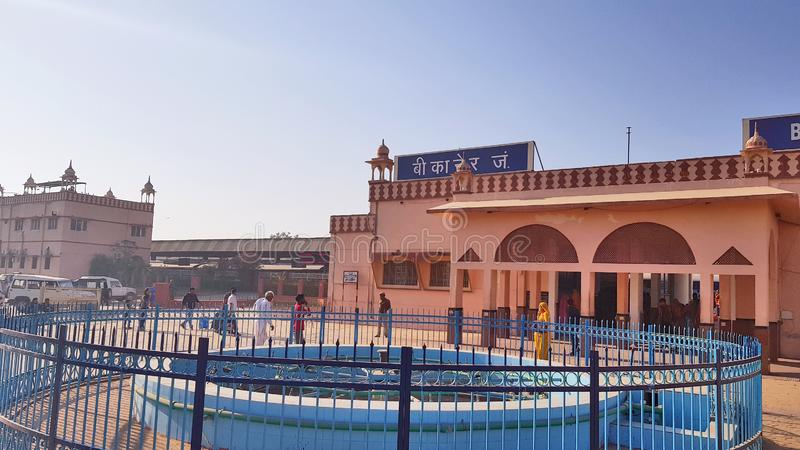 Gare ferroviaire de Bikaner photographie stock libre de droits