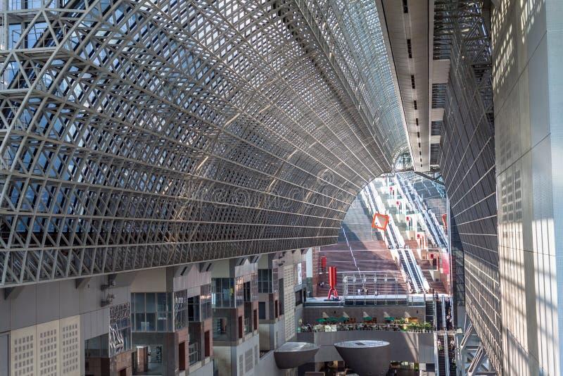 Gare ferroviaire de Kyoto images libres de droits