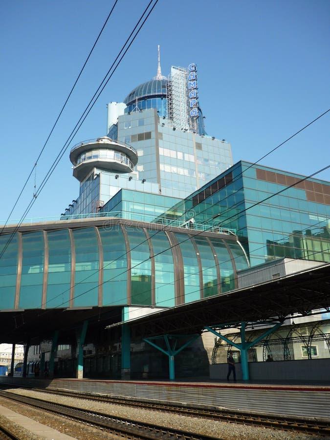 gare ferroviaire de samara photo libre de droits
