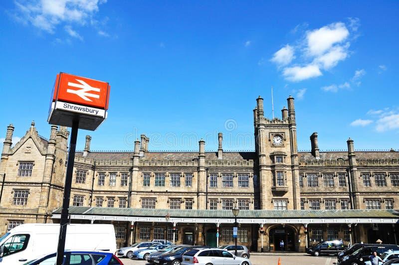 Gare ferroviaire de Shewsbury photo stock
