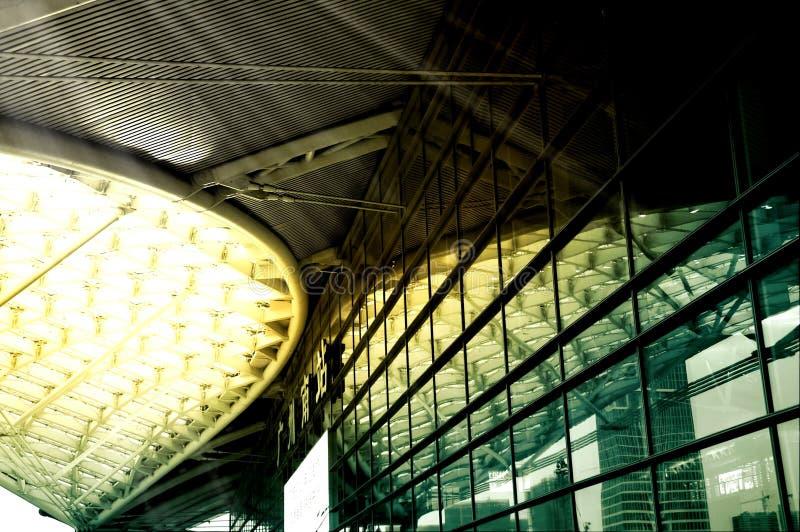 Gare ferroviaire de sud de Guangzhou Gare ferroviaire de sud de Guangzhou image libre de droits