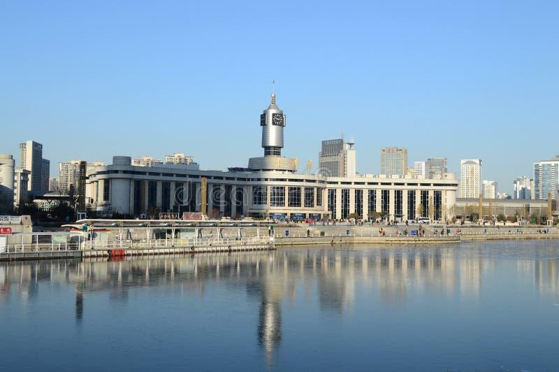 Gare ferroviaire de Tianjin image stock