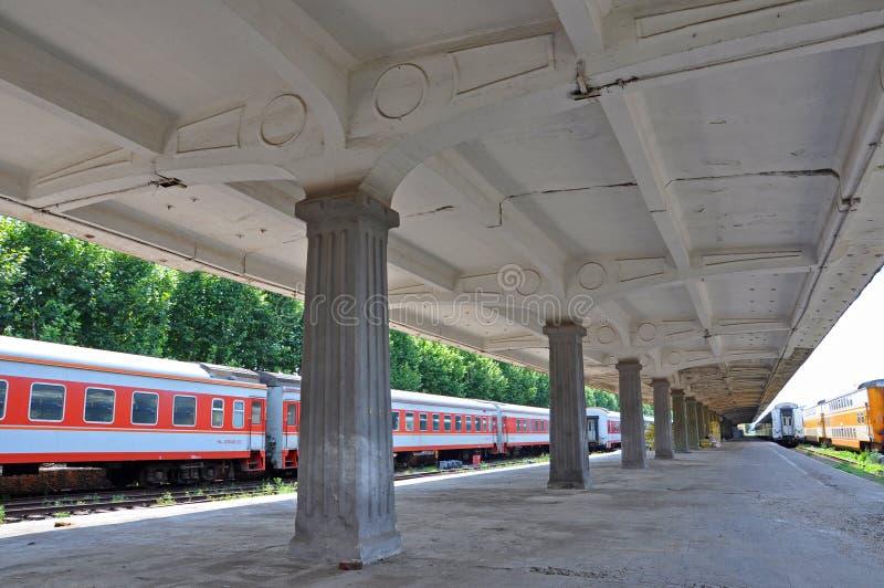 Gare ferroviaire du nord de Nanjing, Nanjing, Chine photographie stock