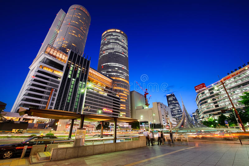 Gare Japon de Nagoya images stock