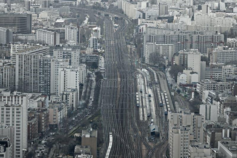 Gare Montparnasse zdjęcia stock