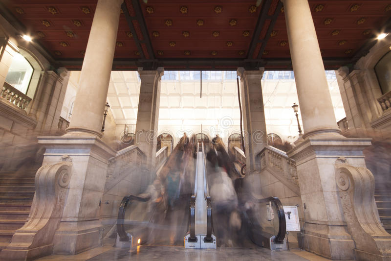 Gare Saint Lazare Royalty Free Stock Image