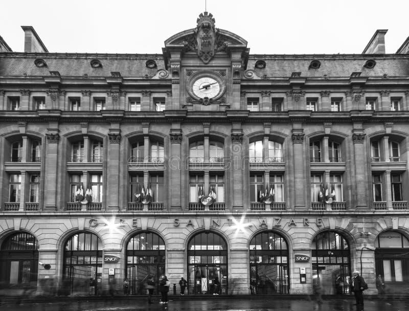 Download Gare Saint-Lazare editorial stock photo. Image of building - 27975163