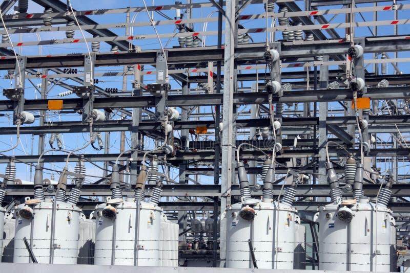 Gare secondaire électrique photos libres de droits