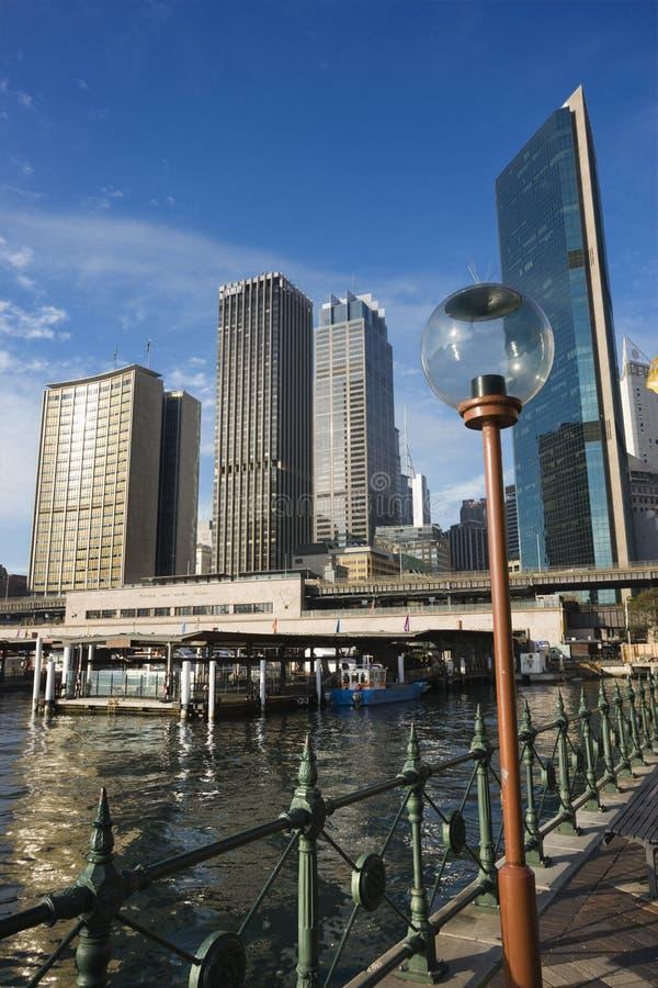Gare, Sydney. Images libres de droits